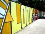 'Look' mural