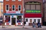 A liquor store in Baltimore.