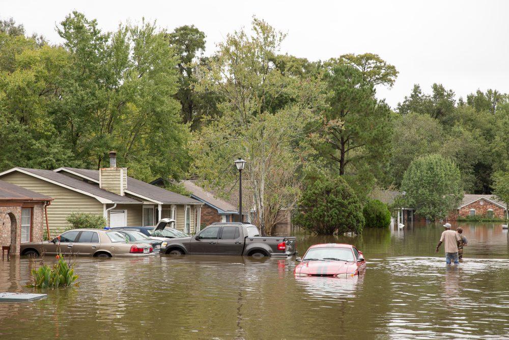 Flooding in North Charleston, South Carolina