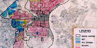 redlining map and racial equity