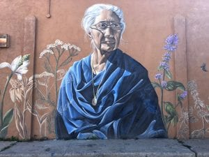 Mural of Maclovia Sanchez de Zamora