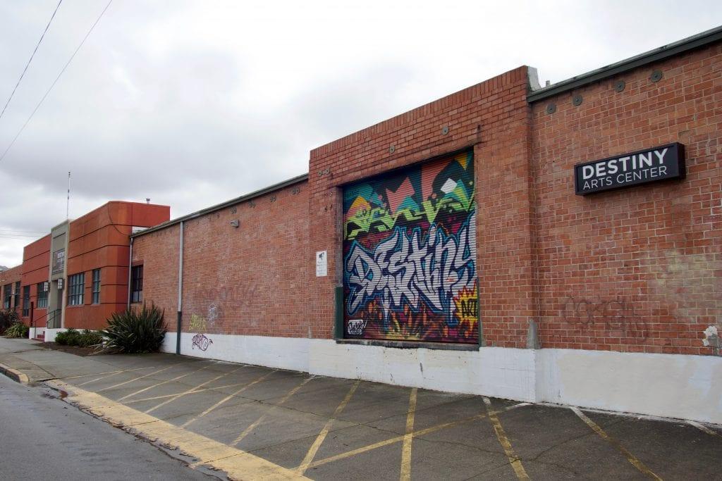 The Destiny Arts building in North Oakland.