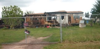 A deteriorated Brownsville home.