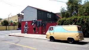 mural in oakland, california
