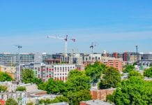Washington DC skyview construction