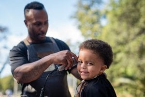 night out free haircuts for young people