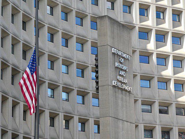 exterior of HUD building in Washington, D.C.