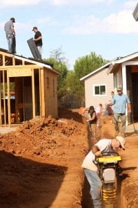 Nonprofit in California uses inmate labor to build housing for the homeless