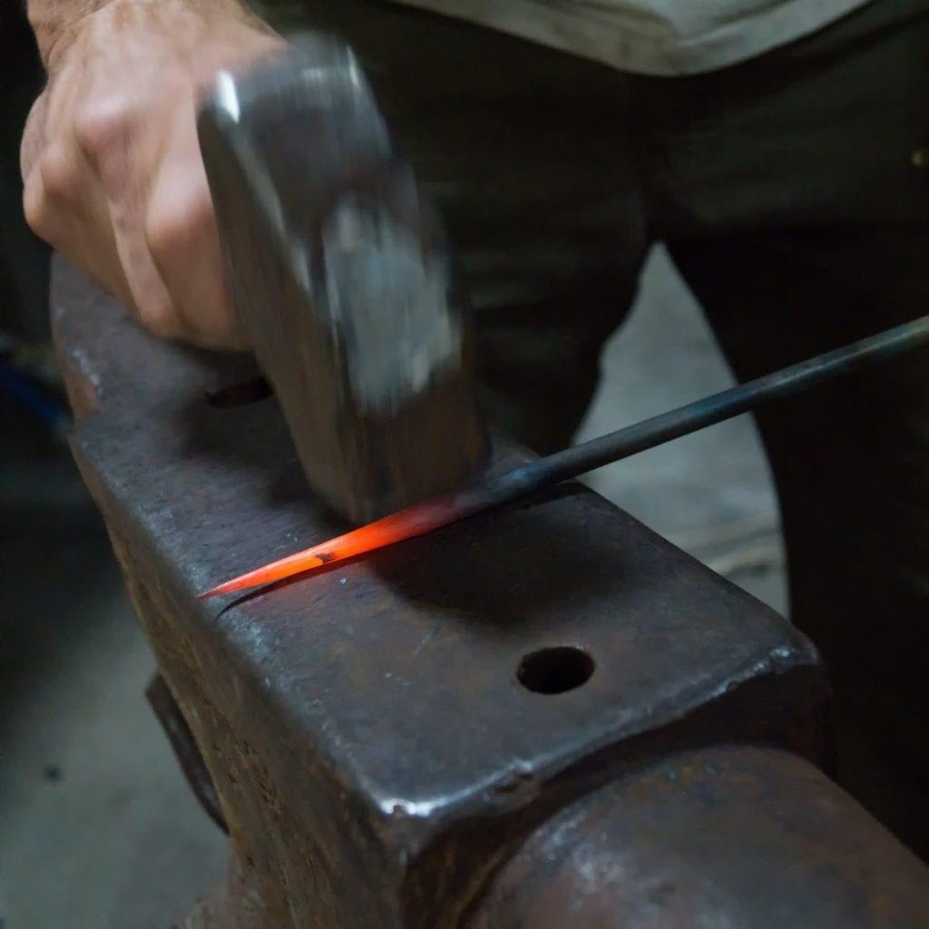 nonprofit developers; blacksmith striking while the iron is hot