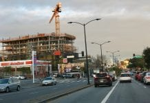 Construction of the 1296 Shotwell development looms over the Mission District