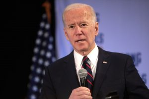 Biden on housing policy: photo shows Joe Biden during the 2020 presidential campaign